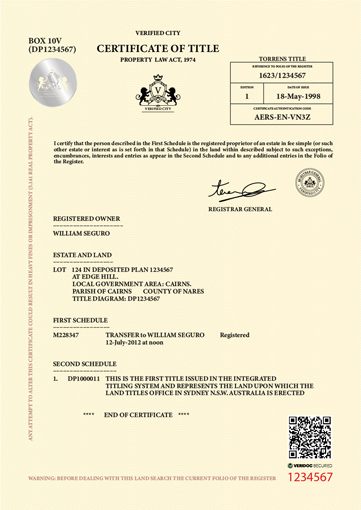 certificate-of-title
